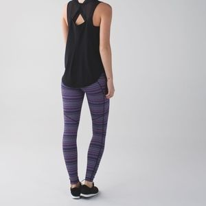 LULULEMON Speed Tight IV Space Dye Twist Leggings